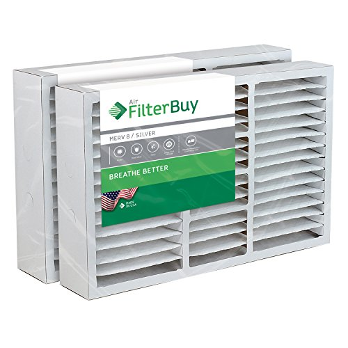 20x26x5 White Rodgers, Electro-Air Replacement AC Furnace Air Filters - AFB Silver MERV 8 - Pack of 2 Filters. Designed to replace F825-0338 / F8110319.