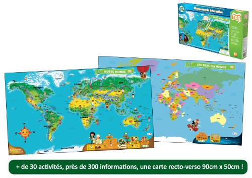 LeapFrog Tag Map - Mapamundi Interactivo (Spanish)