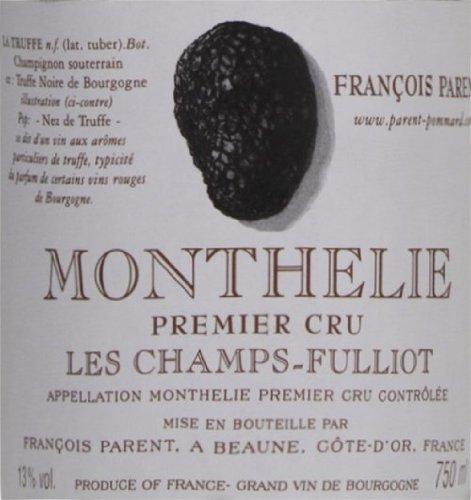 2006 Francois Parent Monthelie Les Champs-Fulliot Burgundy Pinot Noir 750 Ml