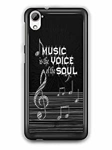 YuBingo Music is the Voice of your Soul Designer Mobile Case Back Cover for HTC Desire 826