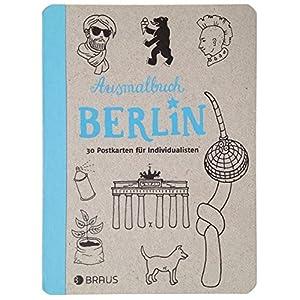 Ausmalbuch Berlin: 30 Postkarten für Individualisten