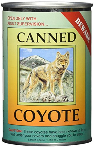 Canned Critters Stuffed Animal: Coyote 6
