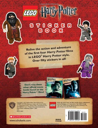 Lego Harry Potter Sticker Book