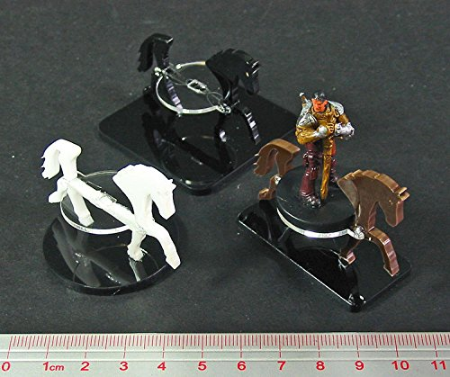 Horse, Character Mount Marker, Brown, 25x50mm Base (1)
