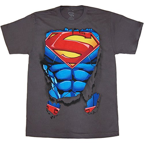 Superman Ripped Costume T-Shirt