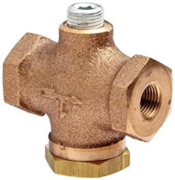 "Control Devices Cast Brass Check Valve, 1/8"" NPT Female"