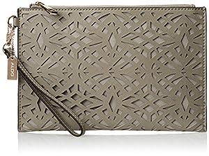 Aldo Whitebread Clutch Handbag,Grey,One Size