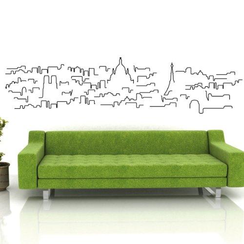 Parigi - Adesivi Murali - Wall Stickers per la decorazione della casa e delle camerette