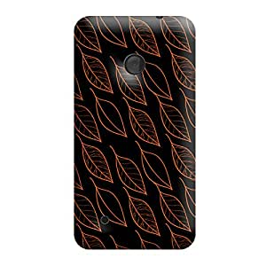 Garmor Seamless Autumn Design plastic back cover for Nokia Lumia 530 Autumn II-9