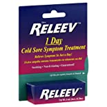 Releev Cold Sore Symptom Treatment, 1 Day