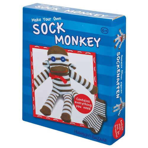 Tobar Make Your Own Sock Monkey