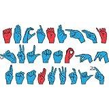 WonderFoam® Magnetic Sign Language Letters