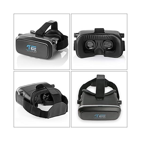 TechElec-3D-VR-Lunettes-pour-35--55-Pouces-Smartphones-Noir
