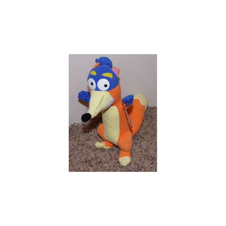 65641d54725 Retired Dora the Explorer SWIPER No Swiping Plush W tag Toys   Games ...