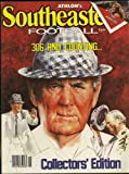 img - for Athlon's 1981 Southeastern College Football Annual (Bear Bryant cover) book / textbook / text book