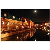 ポストカード「北海道小樽市の夜景」photo by 宮西範直ポストカード-えはがき絵葉書postcard-
