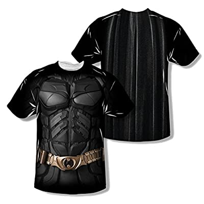 The Dark Knight Batman Costume All Over Youth Front/Back T-Shirt