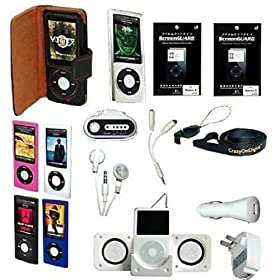 Premium Essential Accessory Bundle for iPod Nano 5th Generation 5G