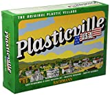 Bachmann Trains Plasticville U.S.A. Log Cabin with Rustic Fence