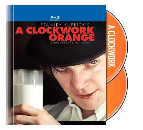 A Clockwork Orange (Two-Disc Anniversary Edition Blu-ray Book Packaging)