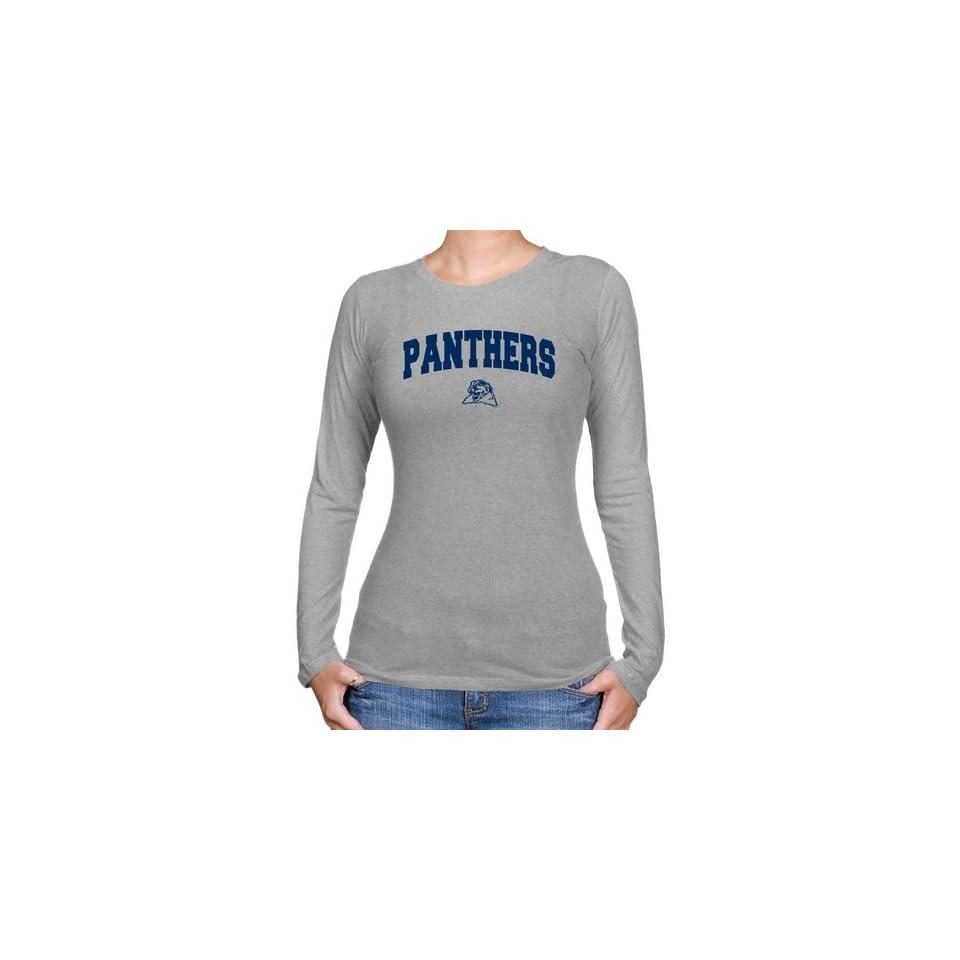 ddad7abd Pittsburgh Panthers T Shirt Pitt Panthers Ladies Ash Logo Arch Long ...