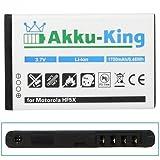 Akku-King Battery for Motorola Defy mini / Defy plus - replaces HF5X Li-Ion 1700mAh