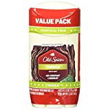 Old Spice Fresher Collection Timber Scent Invisible Solid Men's Antiperspirant/Deodorant Twin Pack, 5.2 Ounce