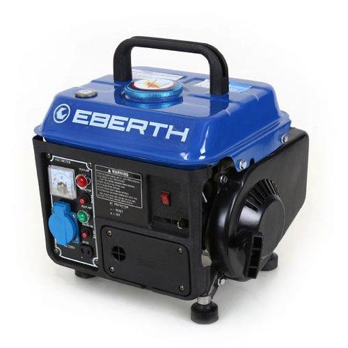 Eberth 2 PS Benzin 750 Watt Stromerzeuger Notstromaggregat
