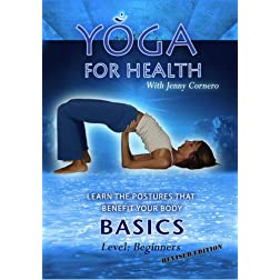 """Yoga For Health"" DVD ""Basic"" (revised) with Jenny Cornero"