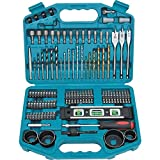 Makita 101 Piece Drill Bit Screwdriver Set p-67832 Professional Drill Accessory
