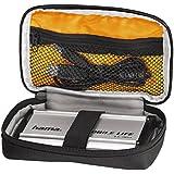 """Hama 2,5 Zoll Festplattentasche """"Black Bird"""", Case für 2,5 Zoll Festplatten und SSD, integriertes Kabelfach (Innenmaße: 9 x 15 x 3 cm) schwarz"""