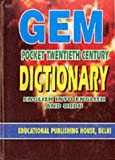 img - for Gem Pocket Cent Dictionary English Urdu (Gem Pocket Dictionary) by M. Raza-Ul-Haq Badakhshani (1994-12-15) book / textbook / text book