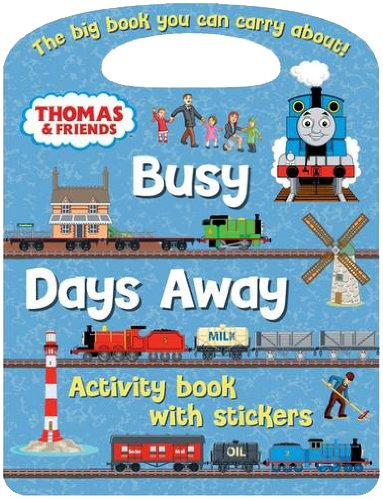 Thomas and Friends Busy Days Away Activity Book (Thomas & Friends)