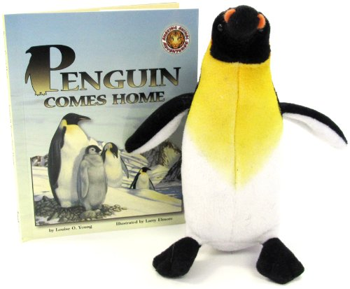 Penguin Comes Home (An Amazing Animal Adventures Book & Toy Set) (Mini book with stuffed toy animal)