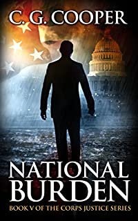 National Burden: A Patriotic Thriller by C. G. Cooper ebook deal