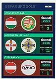 Panini Adrenalyn XL-Uefa Euro 2016Logos 4Magyarorszag/isla del Norte/Osterreich