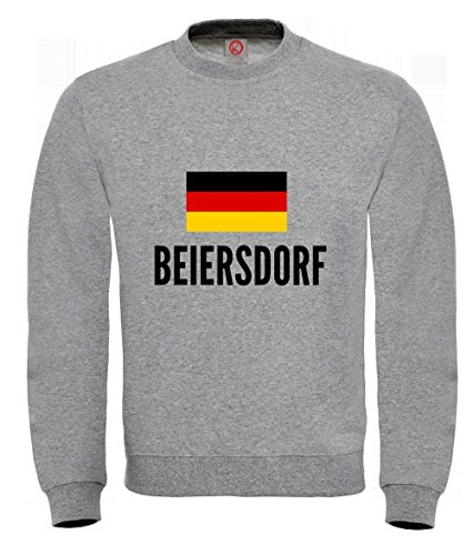 Felpa Beiersdorf city Gray