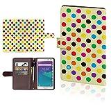 【 アップル 】 iPhone6s 6plus カバー 手帳型 iPhone6s 6plus ケース DoCoMo au SoftBank アイフォン アイフォーン アイフォン6プラス iPhone6s 6 PLUS スマホカバー 人気 おしゃれ かわいい スマホケース 手帳 レザー 手帳型ケース ドット色色t0030