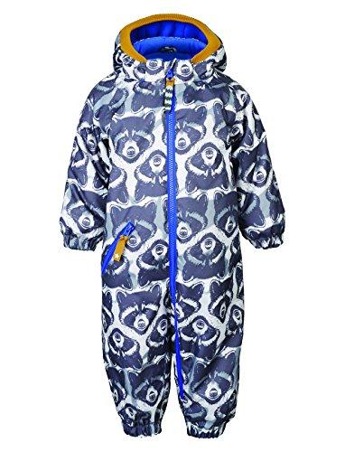 Racoon Baby-Jungen Race Schneeanzug (9.000 Wassersäule), Mehrfarbig (Ebony Ebo), 98