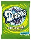 KP DISCOS CHEESE & ONION CRISPS 24 X 28G