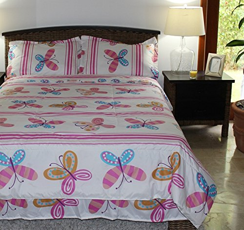 Butterfly Kids Bedding front-1048492