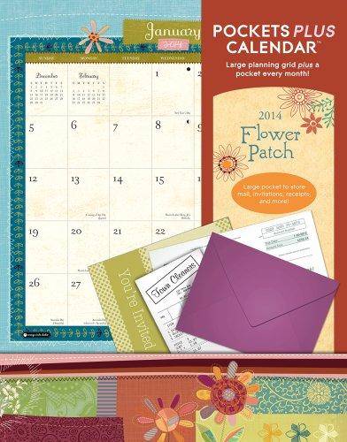 Flower Patch Pockets Plus 2014 Calendar