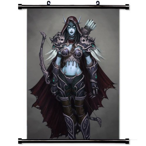 World of Warcraft Sylvanas Windrunner Poster 23.6 X 35.4 Inch