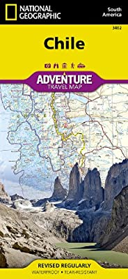 Chile: National Geographic: Adventure Map (National Geographic: Adventure Map (3402))