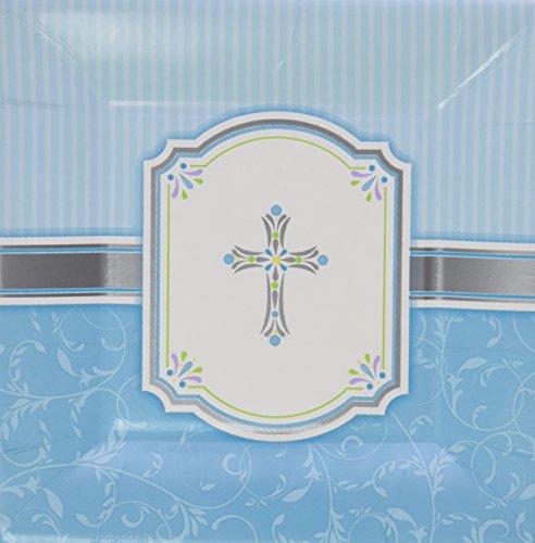 Blue Blessings Communion Dessert Plates - 1