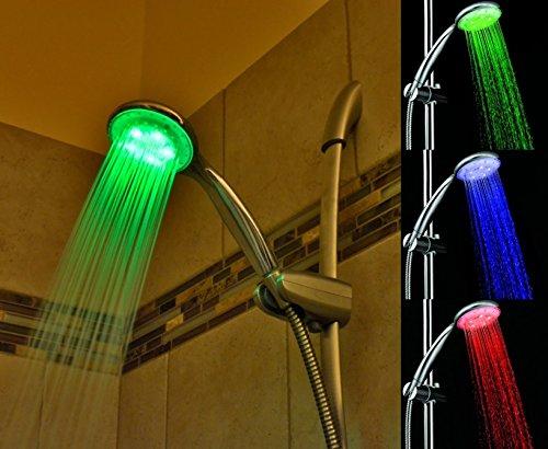 RGB LED Light Up Shower Head ...