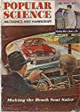 1950 Popular Science July-British Cars; Fireworks;3D TV