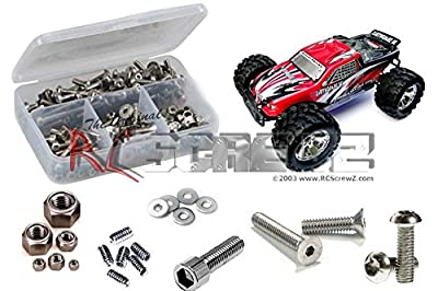 RCR018 - Redcat Racing Earthquake 8e 1/8th Stainless Steel Screw Kit