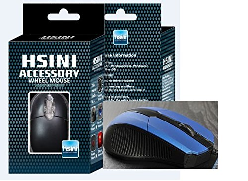 A3 Wired Mouse Computer Mouse Game Of Office Supplies(Blue)