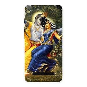 Impressive Radha Krishna Multicolor Back Case Cover for Zenfone 5